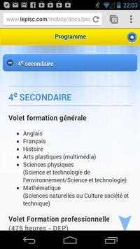 LEPISC apk screenshot