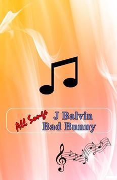 J Balvin (Bad Bunny) -  Si Tu Novio Te Deja Sola poster