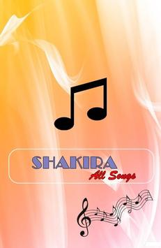 All Songs SHAKIRA-Dare(LaLaLa) poster