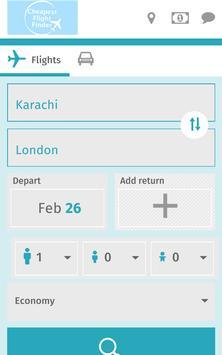 Cheapest Flight FinderPakistan poster