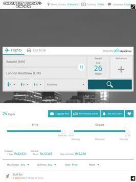 Cheapest Flight FinderPakistan apk screenshot