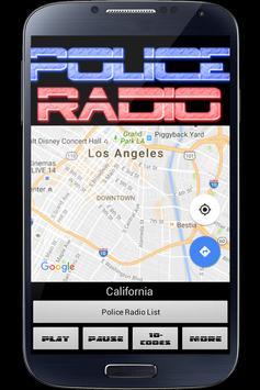 Police Radio Scanner PRO poster