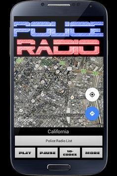 Police Radio Scanner PRO apk screenshot