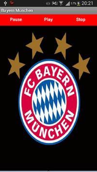 Bayern Munchen Anthem poster