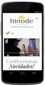 Hinode - Loja Virtual poster