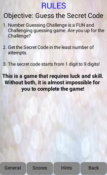Number Guessing Challenge (W) apk screenshot