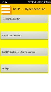 hiBP - Hypertension Treatment apk screenshot