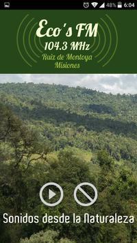 Ecos FM - Ruiz de Montoya poster