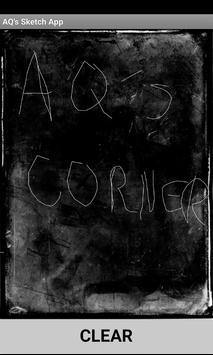 AQ's Sketch App poster