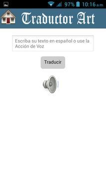 Traductor Art apk screenshot