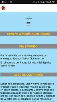 Novena a María Auxiliadora screenshot 3