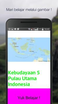 Budaya 5 Pulau poster