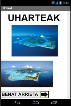 Uharteak poster