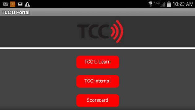 TCC U apk screenshot
