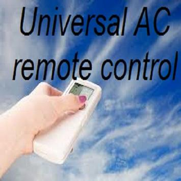 Remote control for AC joke poster