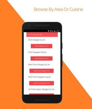 FoodieAway - Online Food Ordering - Made Easy! screenshot 1