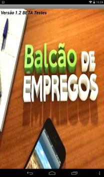 Balcão de Empregos RJ poster