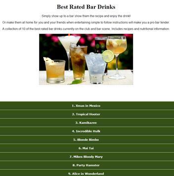 Best Rated Bar Drinks Recipes screenshot 5
