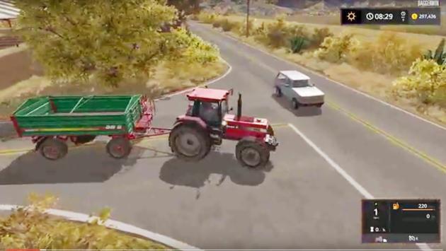 Helping locals Farm Simulator poster