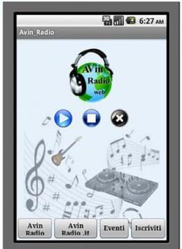 Avin Radio poster