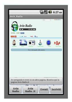 Avin Radio screenshot 1