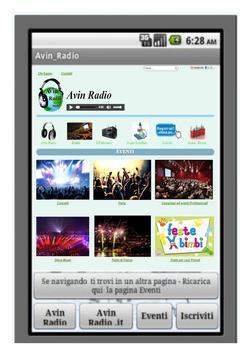 Avin Radio screenshot 2
