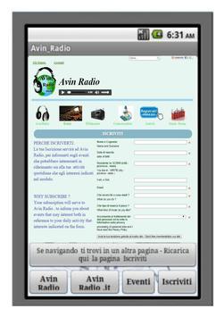 Avin Radio screenshot 3