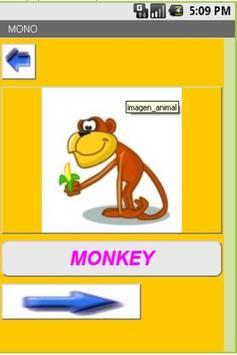 Animales en Ingles apk screenshot