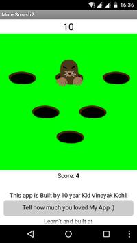 Mole Smash 2 screenshot 1