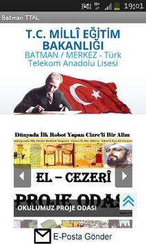 Türk Telekom Anadolu Lisesi poster