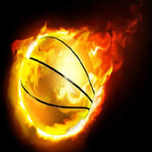 The basketball app icon
