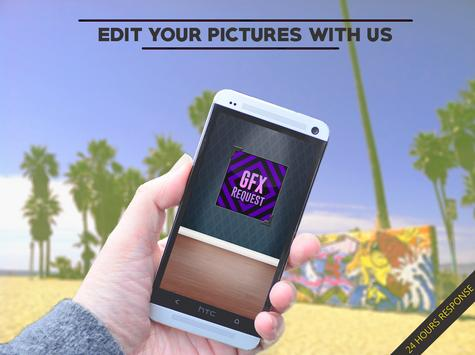 GFX Request apk screenshot