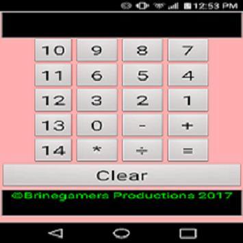 The Double Digit Neon Calculator screenshot 1