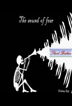 The Sound of fear poster