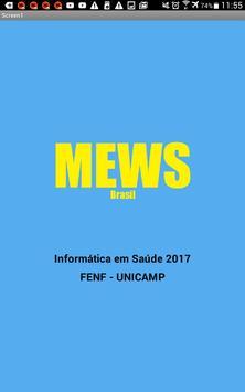 MEWS Brasil poster
