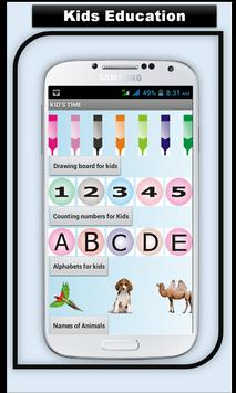 123 ABC Kids Learning poster