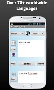 Poster Multi Language Translator - TTS T2T Traductor