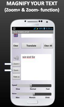 Multi Language Translator - TTS T2T Traductor screenshot 3