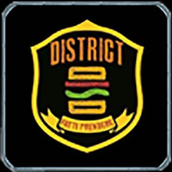 district poster