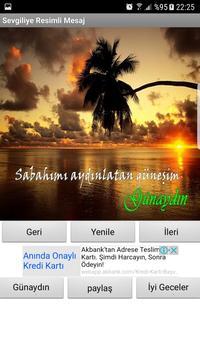 Sevgiliye günaydın mesajı screenshot 1