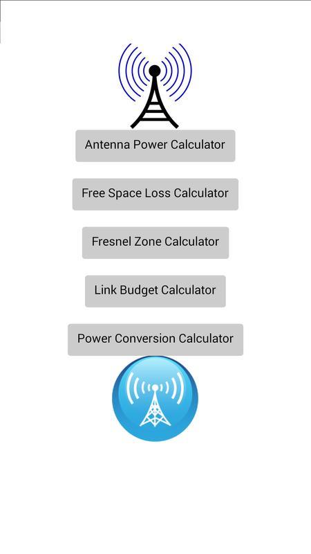 all rf calculator link budget apk ダウンロード 無料 ツール アプリ