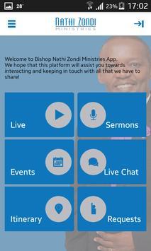 Nathi Zondi Ministries تصوير الشاشة 2