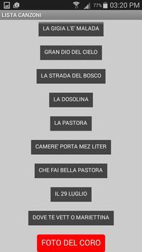 Canzoni dei Panciai apk screenshot