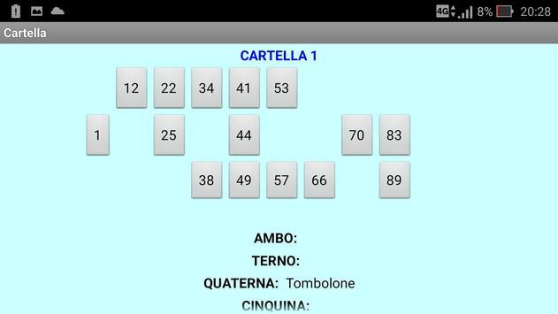 Tombola screenshot 4