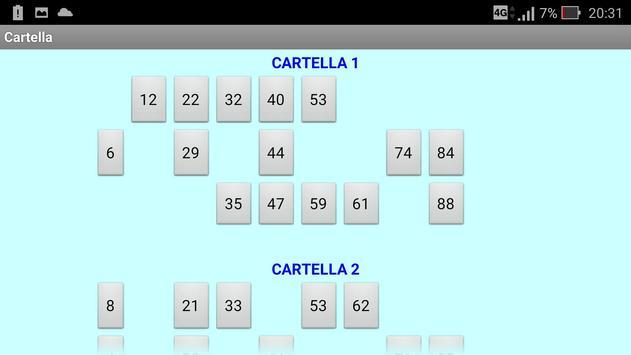 Tombola screenshot 6