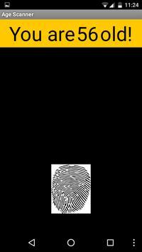 Age Scanner screenshot 1