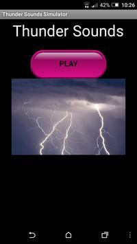 Thunder Sounds Simulator screenshot 2