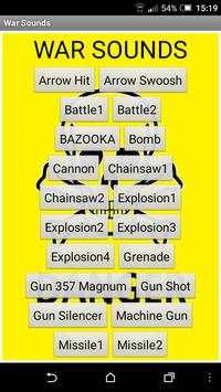 War sounds screenshot 4