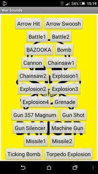 War sounds screenshot 5