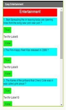 Test Your Knowledge. apk screenshot